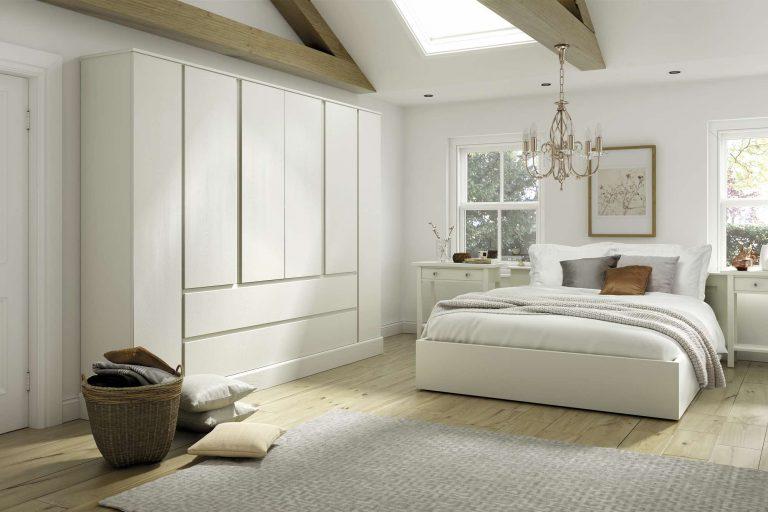 Painted Tenby S1 Ivory Bedroom