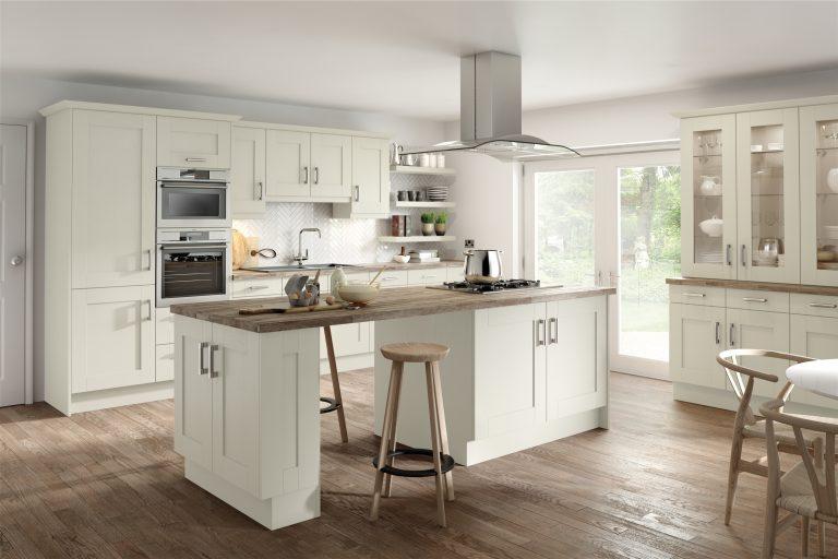 5 Piece Fenwick S1 Legno Ivory Kitchen
