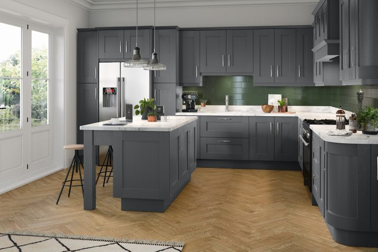 5 Piece Fenwick Legno Graphite Kitchen