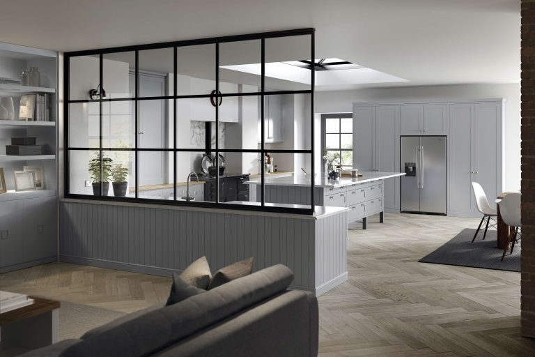 5 Piece Loxley Serica Light Grey Kitchen